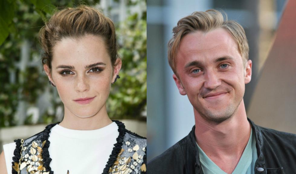 """Emma Watson, fotografiată într-un mod adorabil de Tom Felton, fostul ei coleg din """"Harry Potter"""""""
