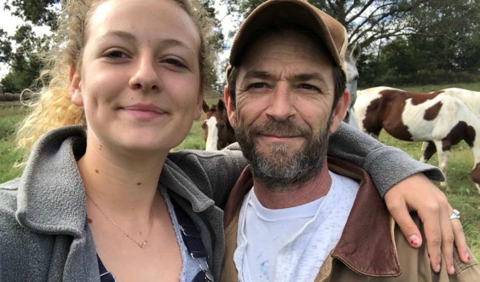 Fiica lui Luke Perry, primele declarații după moartea tatălui său