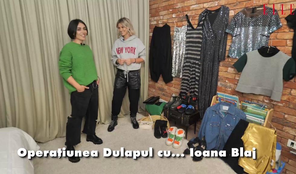 Operațiunea Dulapul cu… Ioana Blaj (VIDEO)