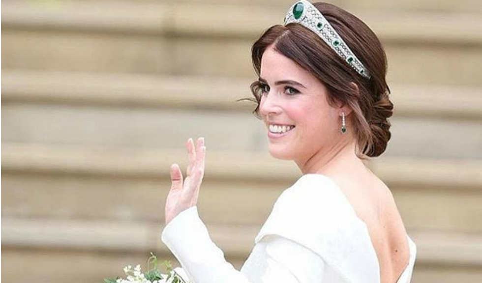 Zac Posen a publicat o nouă imagine cu superba rochie de mireasă purtată de Prințesa Eugenie