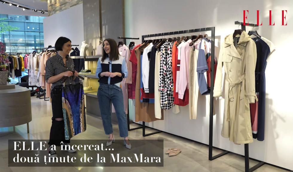ELLE a încercat… două ținute de la MaxMara (VIDEO)
