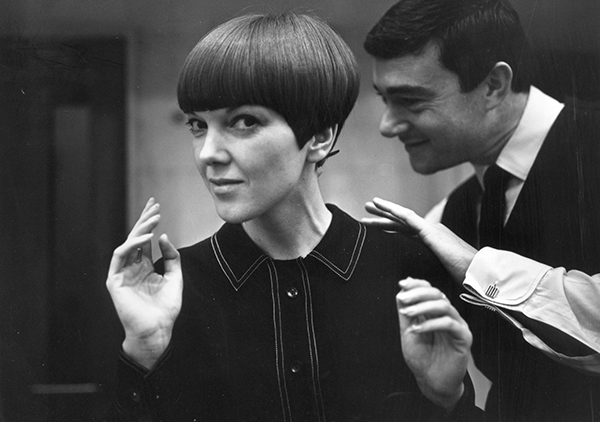 Mary Quant, photograph by Ronald Dumont, c.1967. © Ronald Dumont/Stringer/Getty Images