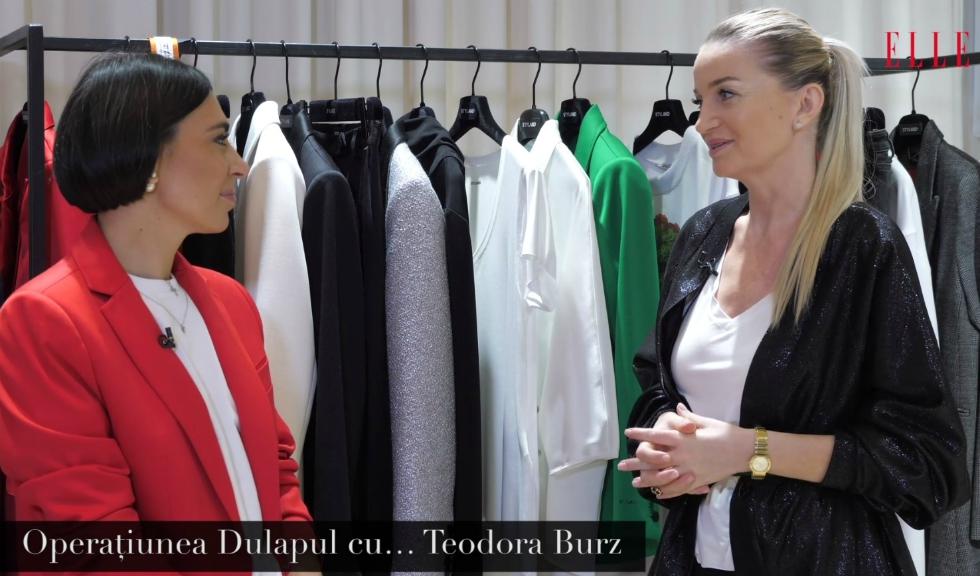 Operațiunea Dulapul cu… Teodora Burz (VIDEO)