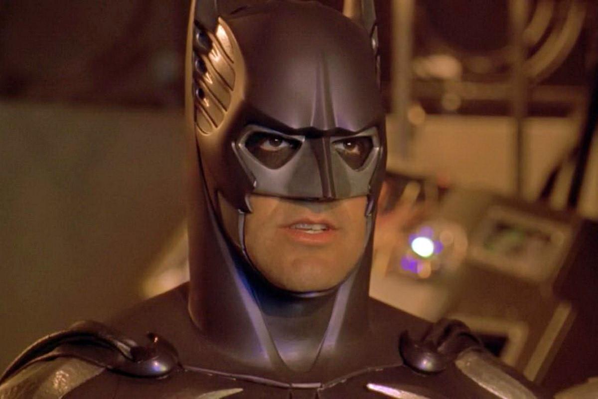 George Clooney în Batman & Robin