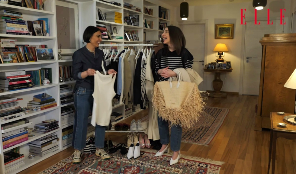 #ELLETeam: Cum să porți geanta din rafie, cu Domnica Mărgescu și Cristina Crăciun (VIDEO)