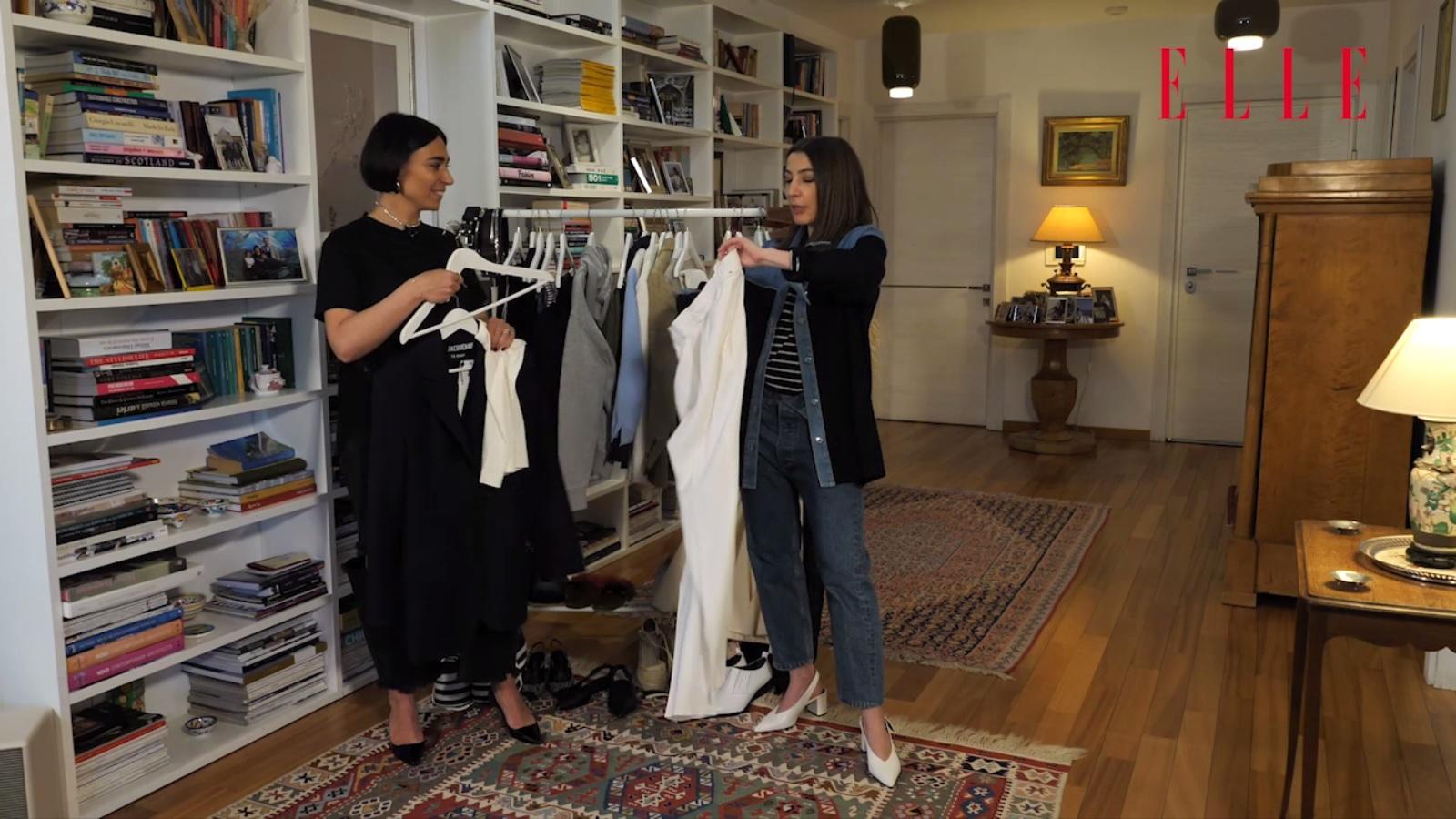#ELLETeam: Cum să porți pantalonii albi, cu Domnica Mărgescu și Cristina Crăciun (VIDEO)