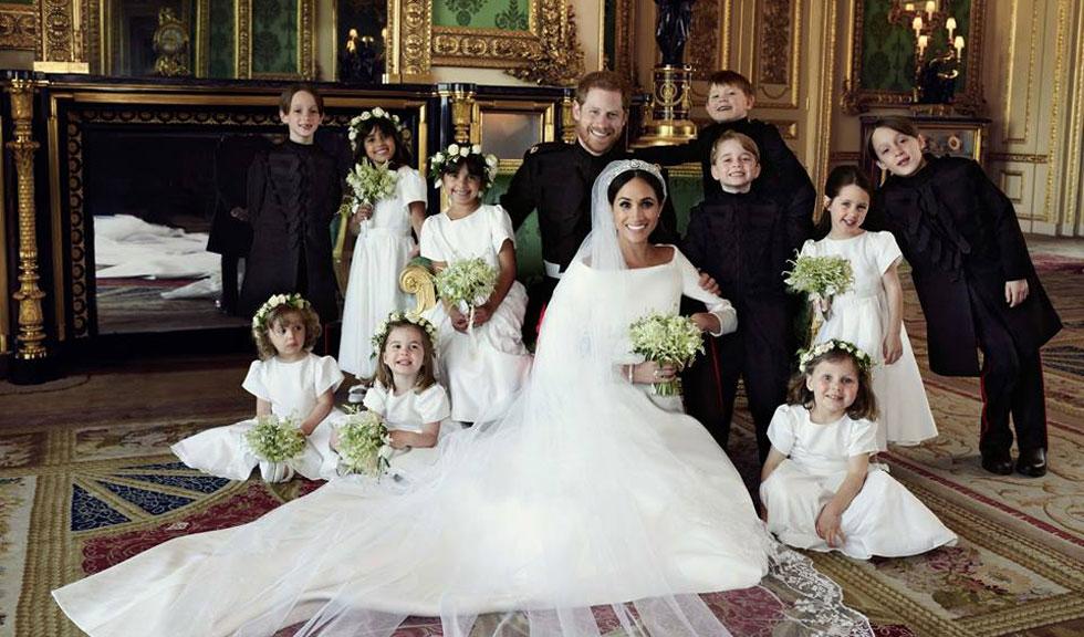 Meghan Markle și Prințul Harry au dezvăluit noi fotografii de la nunta lor