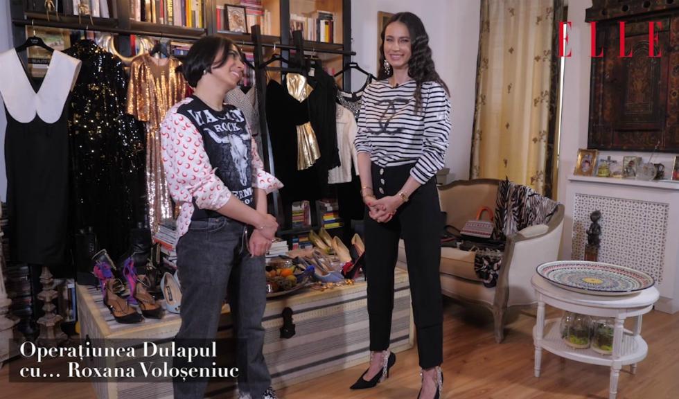 Operațiunea Dulapul cu… Roxana Voloșeniuc (VIDEO)