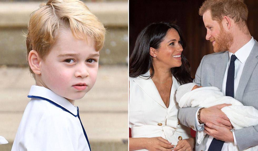 Prințul George ar fi dezvăluit încă din ianuarie numele bebelușului Sussex