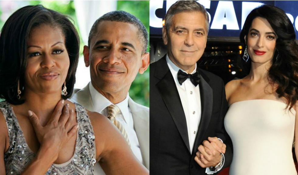 Barack și Michelle Obama și-au petrecut vacanța alături de Amal și George Clooney