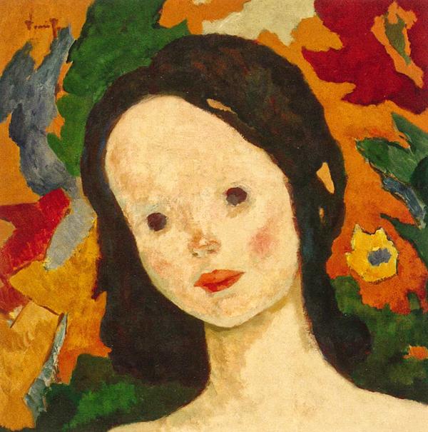 Cap de fetiță 1926-1928, N.Tonitza