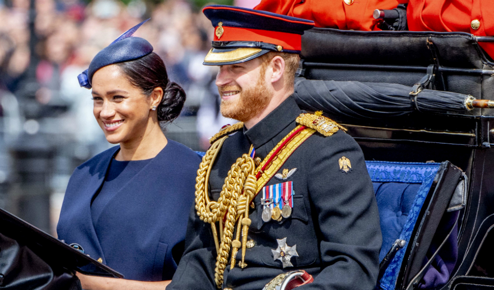 Care este semnificația inelului pe care Meghan Markle l-a purtat la Trooping the Colour