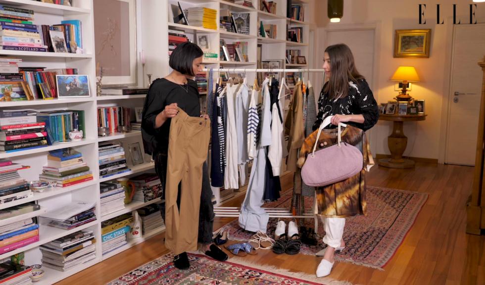 #ELLETeam: Cum să porți pantalonii cargo, cu Domnica Mărgescu și Cristina Crăciun (VIDEO)