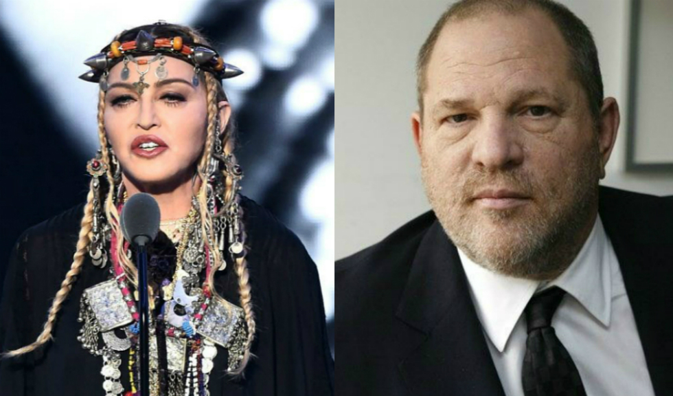 Madonna povestește propria experiență pe care a avut-o cu Harvey Weinstein