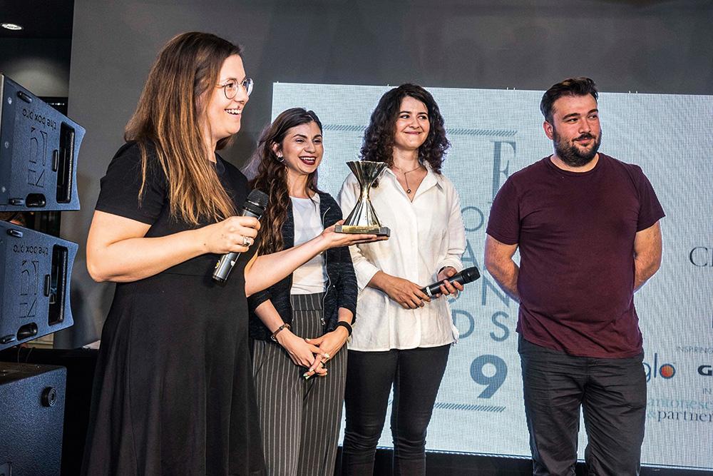 (P) Premiul pentru cel mai bun designer de obiect al anului