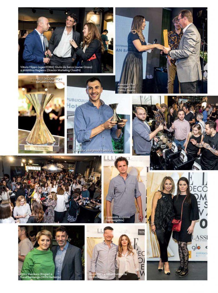 ELLE DECORATION ROMANIAN DESIGN AWARDS 2019 și-a desemnat câștigătorii