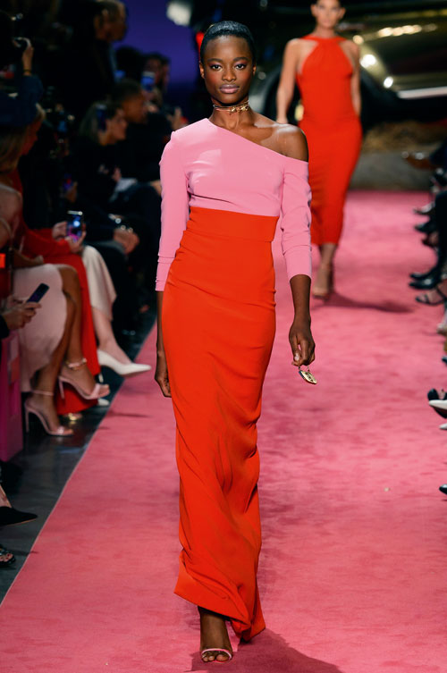 Fashion trend: Red+Pink=Love