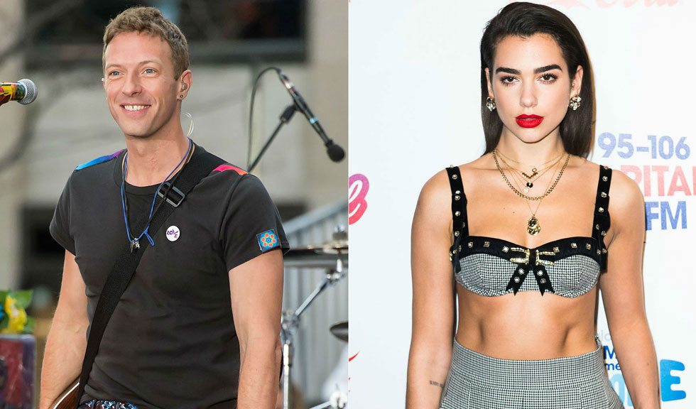 Chris Martin și Dua Lipa, noul cuplu din showbiz?