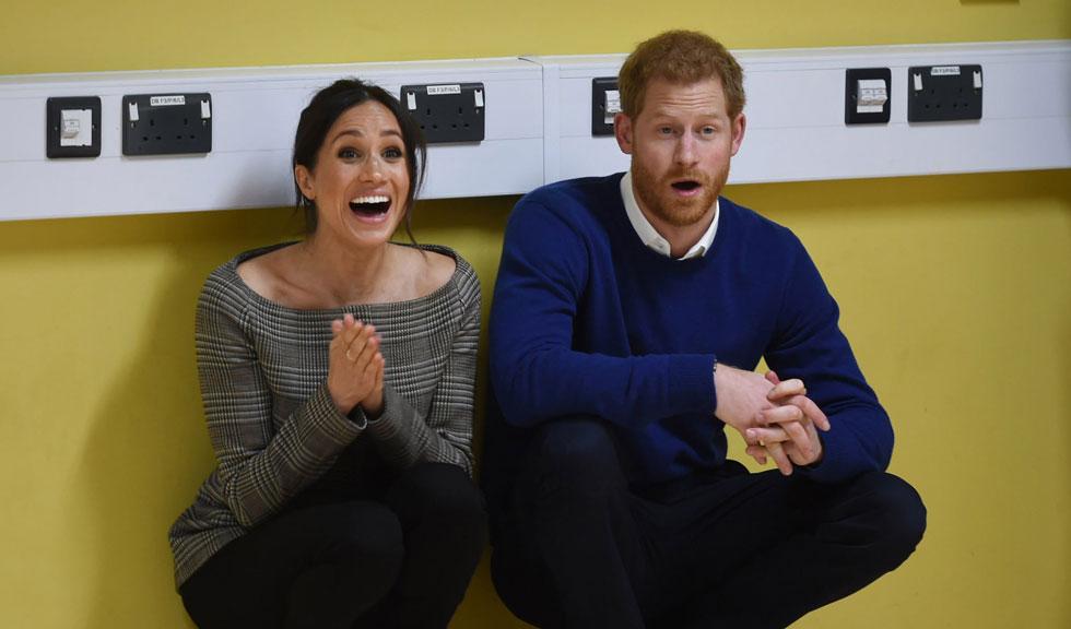 Meghan Markle și Prințul Harry au avut o apariție surpriză la un meci de baseball