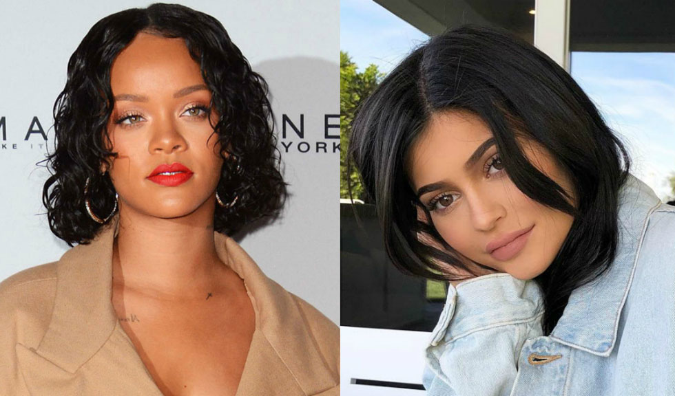 Kylie Jenner vs. Rihanna – două vedete, o singură ținută foarte sexy