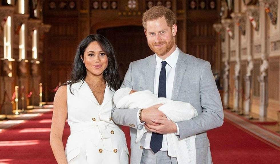 Archie Harrison are părul roșcat, la fel ca tatăl lui, Prințul Harry