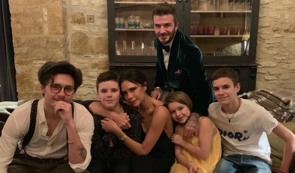 Familia Beckham s-a bucurat de o vacanță perfect în Italia