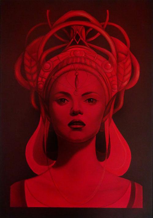 Irina Dragomir - Red Queen