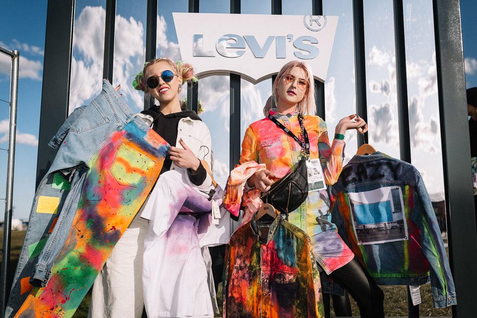 (P) LEVI'S® te așteaptă la Summer Well să îți personalizezi cel mai cool outfit din denim în Tailor Shop!