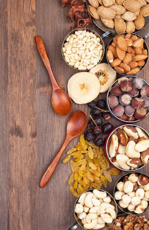 Nucile și fructele ajută la pierderea în greutate?