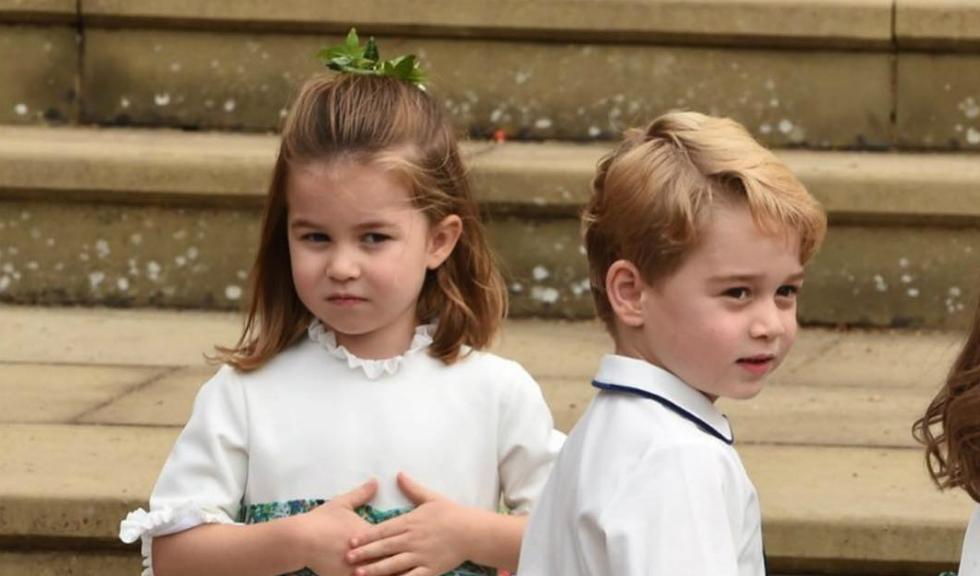 Prințul George și Prințesa Charlotte, apariție adorabilă la Royal Regatta