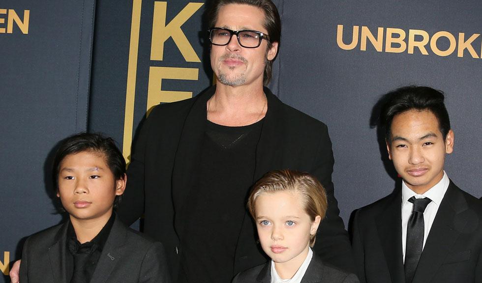 Brad Pitt pune pe primul loc timpul petrecut alături de copiii lui