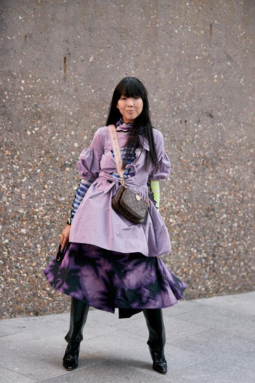 Peste 20 cele mai cool ținute de la săptămâna modei londoneze