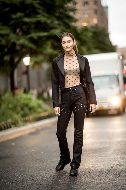 Best streetstyle looks @ Săptămâna Modei de la New York Spring/Summer 2020