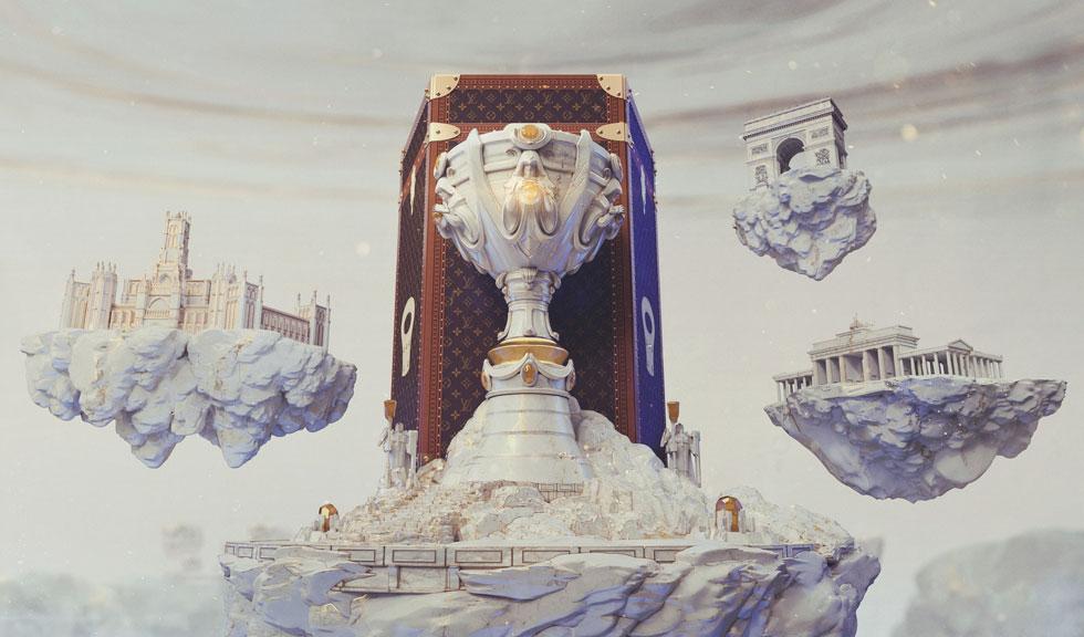 Campionii League of Legends vor purta Louis Vuitton in urmatorul turneu