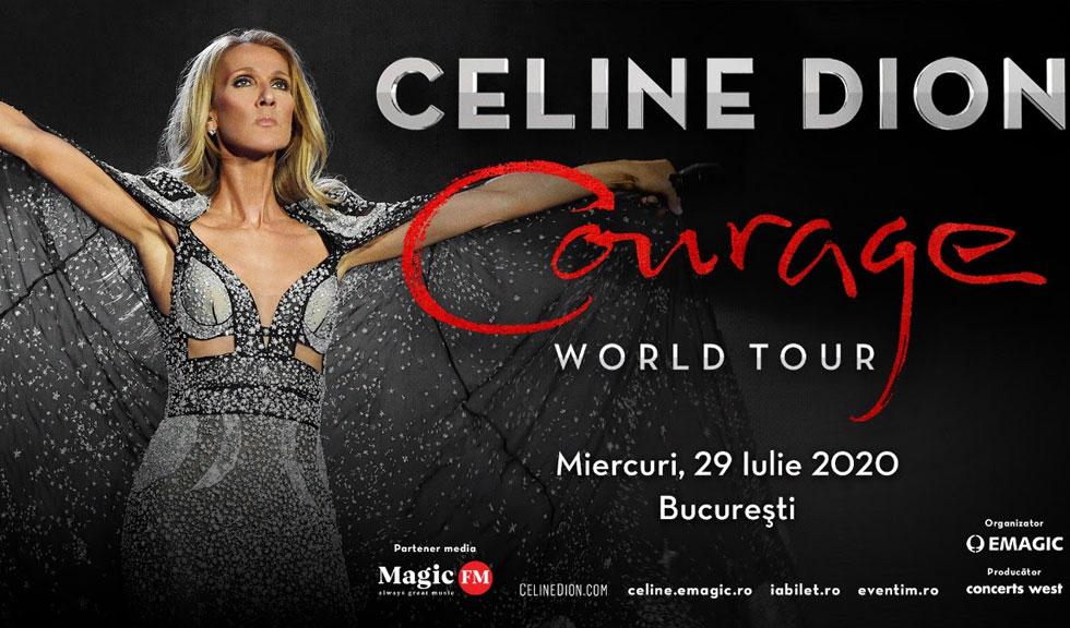 Concert Celine Dion la București – toate detaliile