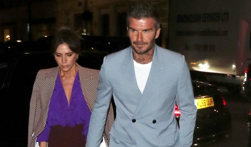 David Beckham a dezvăluit imagini cu familia sa din timpul London Fashion Week