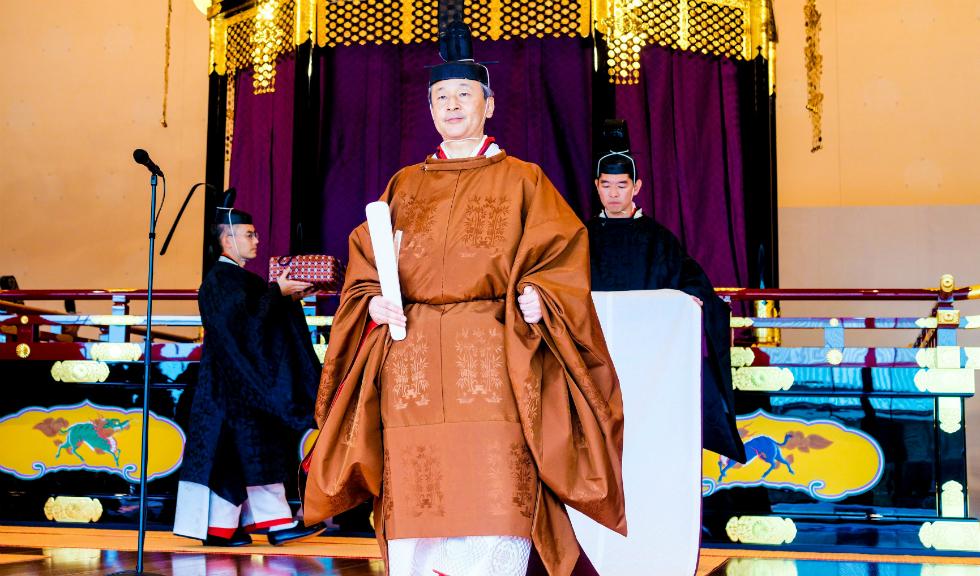Cei mai importanți demnitari și membri ai familiilor regale au fost prezenți la încoronarea Împăratului Japoniei, Naruhito