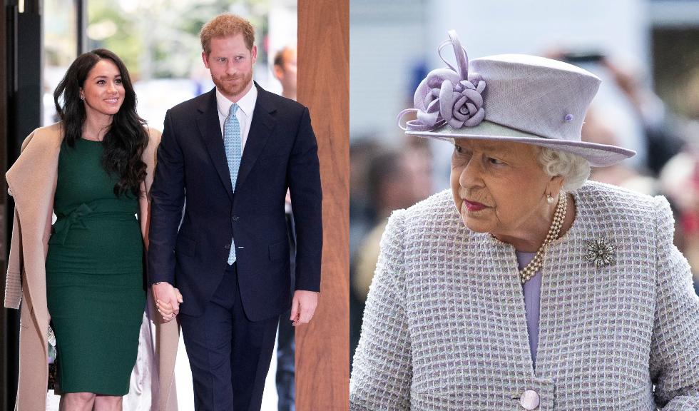 Schimbarea neașteptată făcută de Regina Elisabeta a II-a în privința fotografiei Prințului Harry cu Meghan Markle