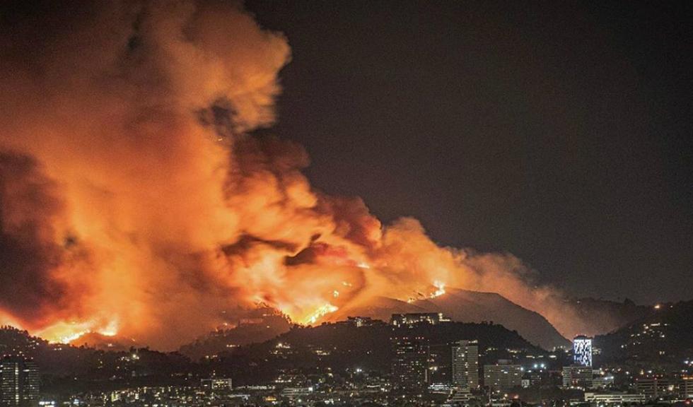Vedetele de la Hollywood au fost evacuate din cauza incendiilor devastatoare din California