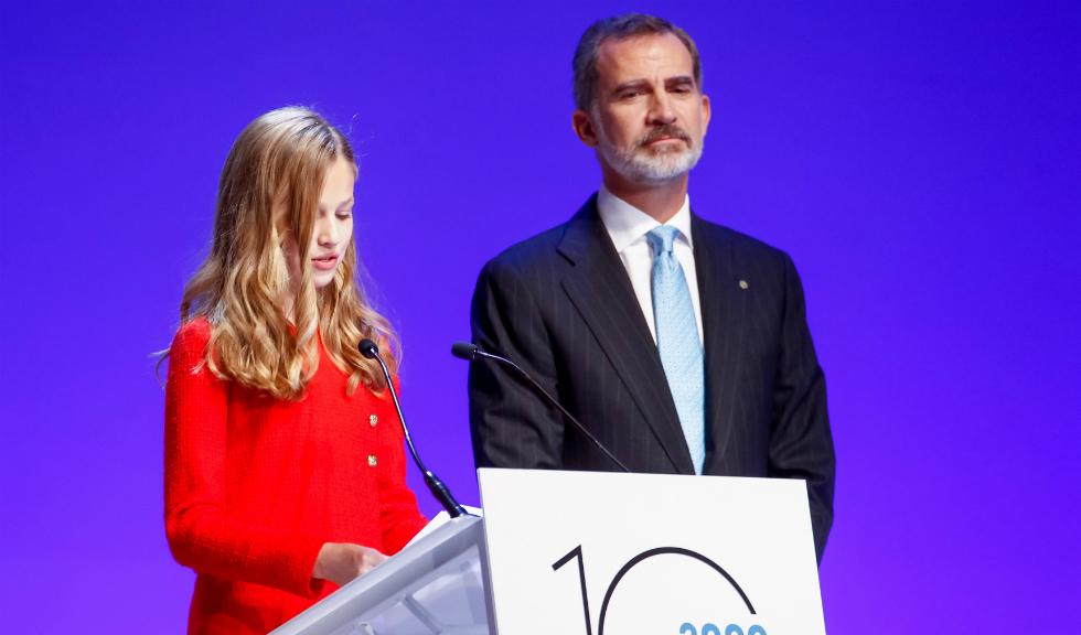 La doar 14 ani, Prințesa Leonor a Spaniei a ținut un discurs din care toți avem de învățat