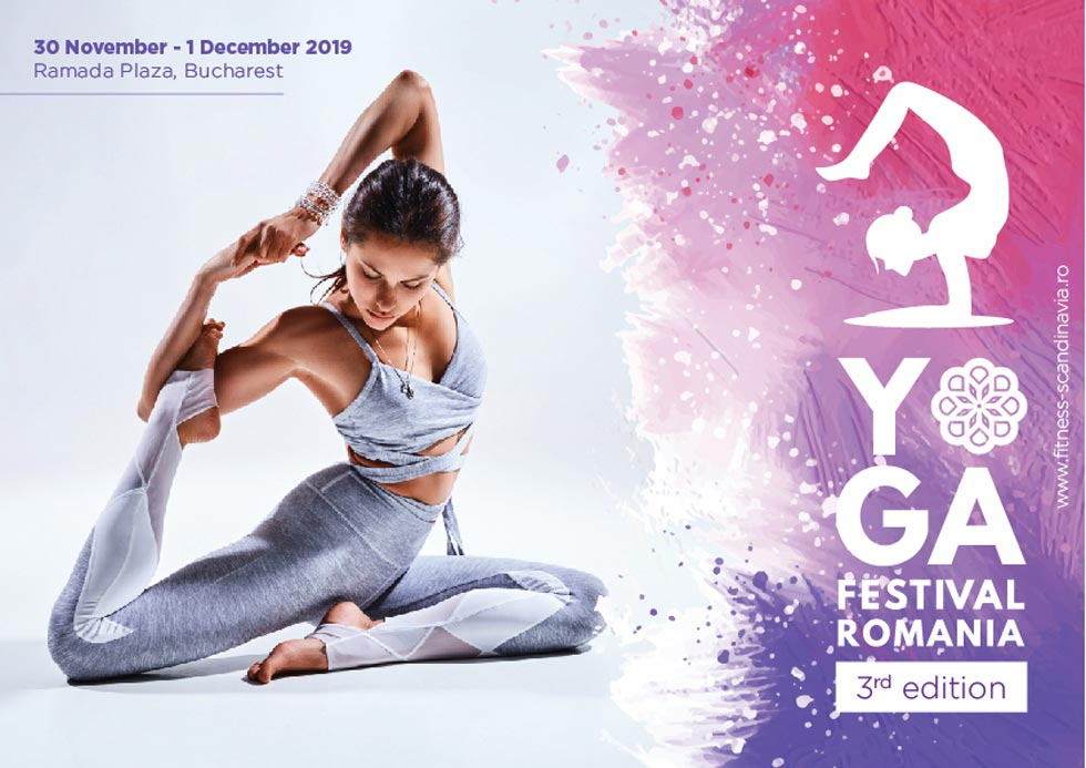 Yoga Festival revine in anul 2019 in weekendul 30 noiembrie – 01 decembrie