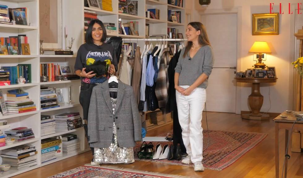 #ELLETeam: Cum să porți sacoul clasic în două feluri diferite, cu Domnica Mărgescu și Cristina Crăciun (VIDEO)