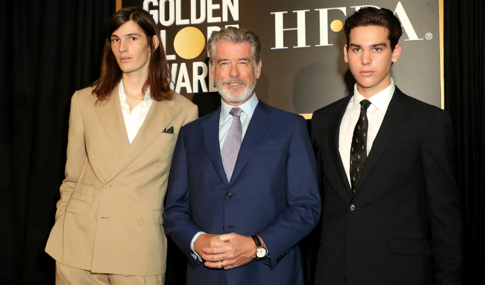 Băieții lui Pierce Brosnan au fost numiți ambasadorii Globurilor de Aur 2020