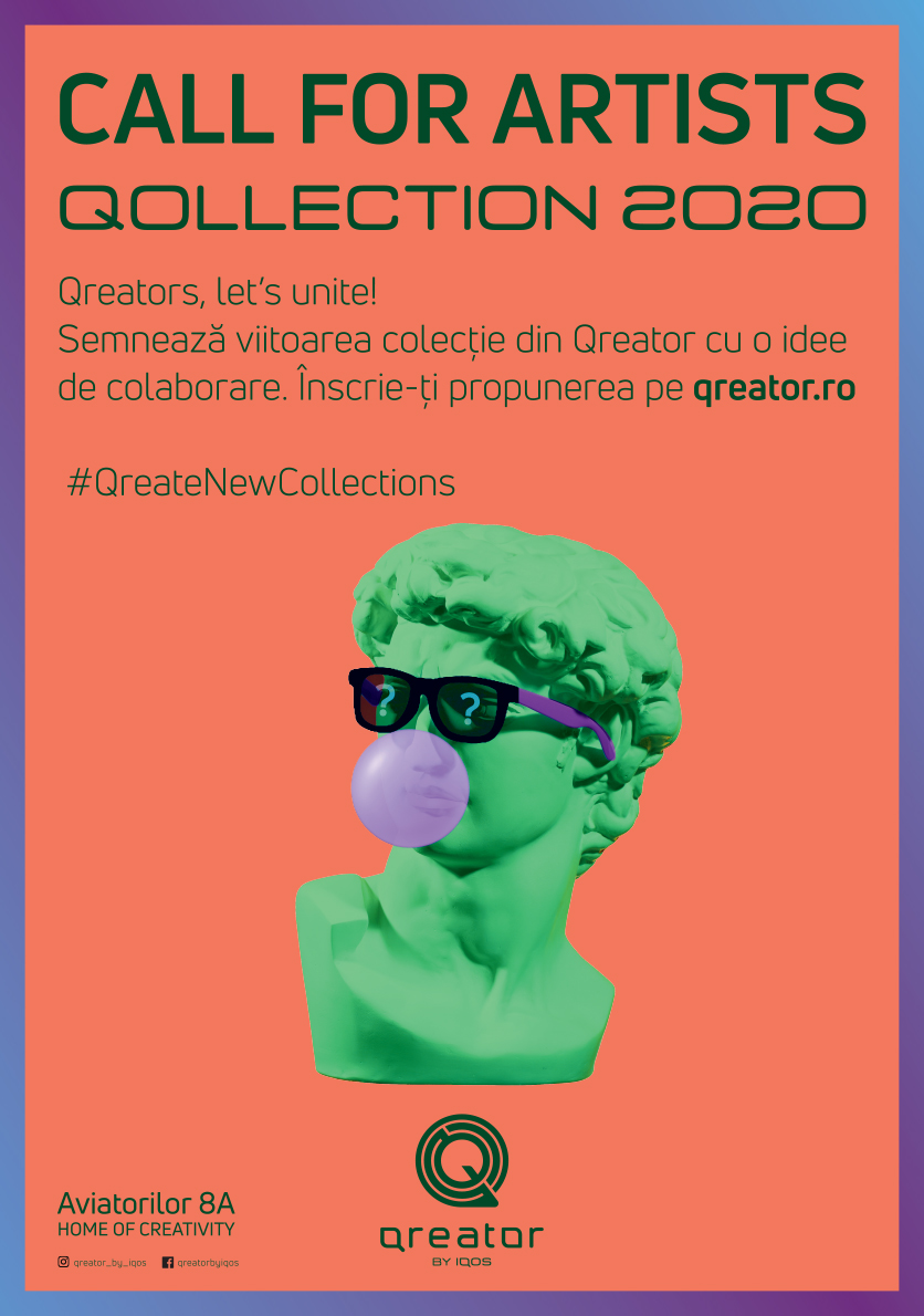 (P) Qreator, Home of Creativity, caută artiștii anului 2020
