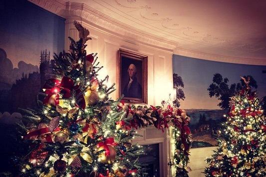 Decorațiuni de Crăciun de la Casa Albă