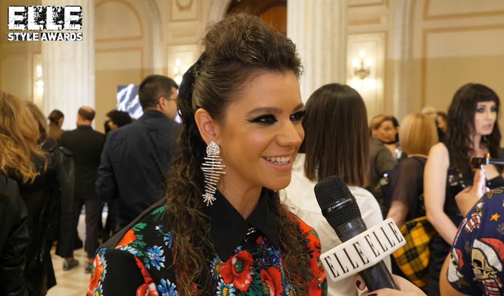 """Ada Condeescu la ELLE Style Awards 2019, despre inspirația ținutei și cel de-al doilea sezon din """"L-a Seral"""" (VIDEO)"""