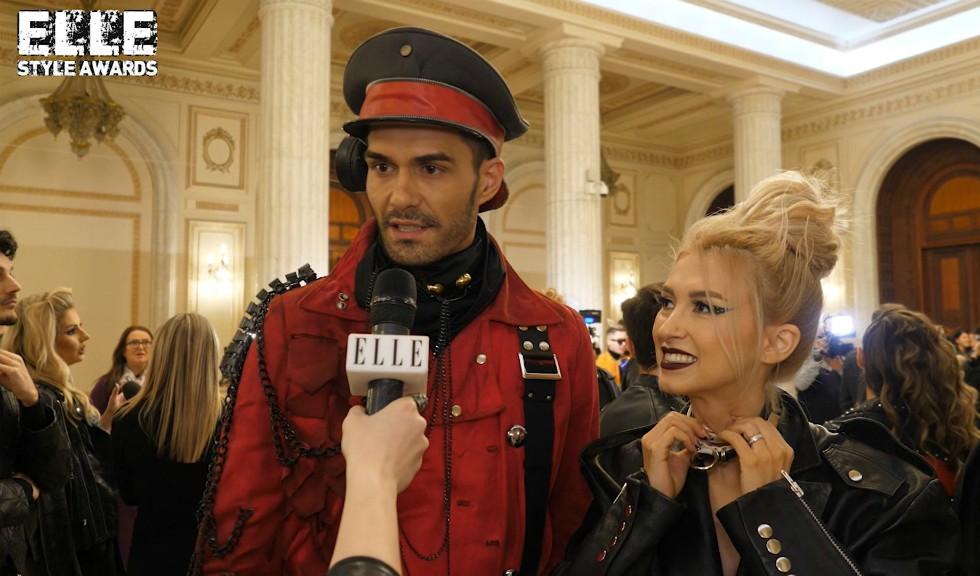 Andreea Bălan și George Burcea la ELLE Style Awards 2019, despre ținutele speciale pe care le-au ales pentru eveniment (VIDEO)