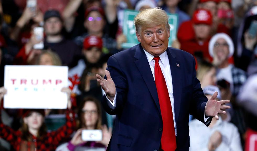 Donald Trump devine cel de-al treilea președinte american pus sub acuzare