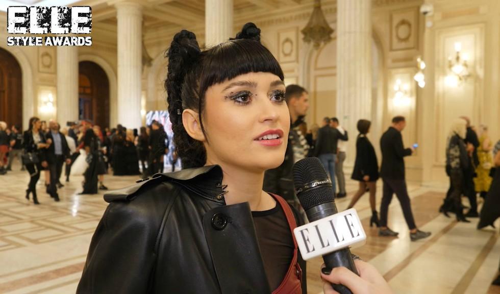 Irina Rimes la ELLE Style Awards 2019, despre ținuta aleasă și designerii români preferați (VIDEO)