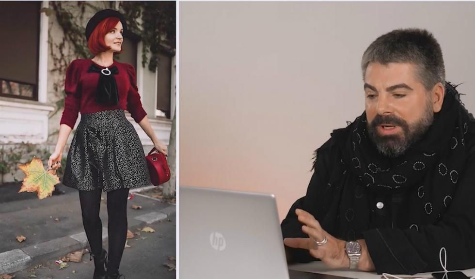 Maurice Munteanu comentează ținutele celor mai cunoscuți bloggeri din România (VIDEO)